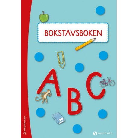 Bokstavsboken ABC 5-pack